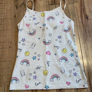 Love and Rainbows tank top NWOT